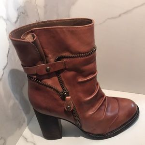 BCBG Generation Zippered Heeled Boots